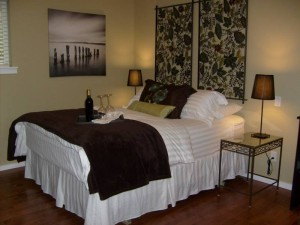 Emmy cottage Suite Amour Hobby Farm and Bed and Breakfast, Qualicum Beach BC